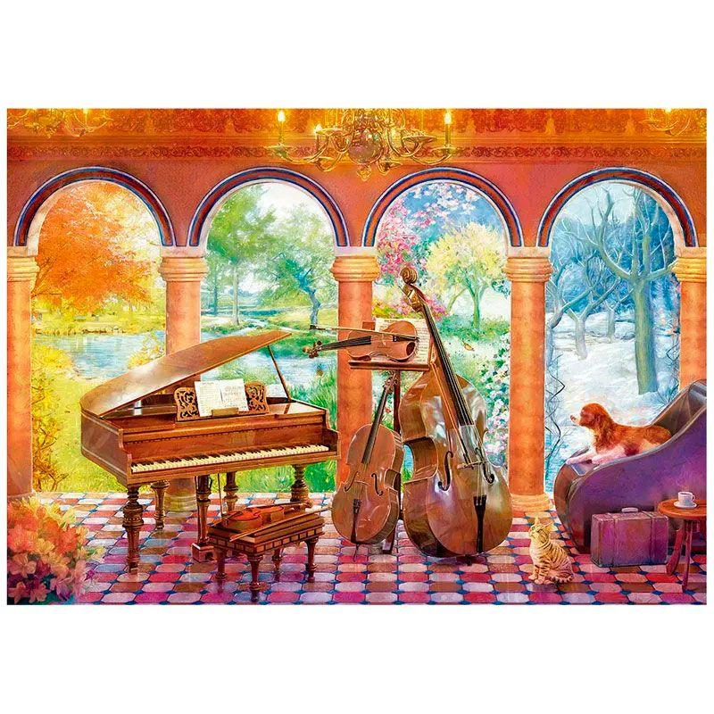 Quebra Cabeça Vivaldi As Quatro Estações 4000 Peças