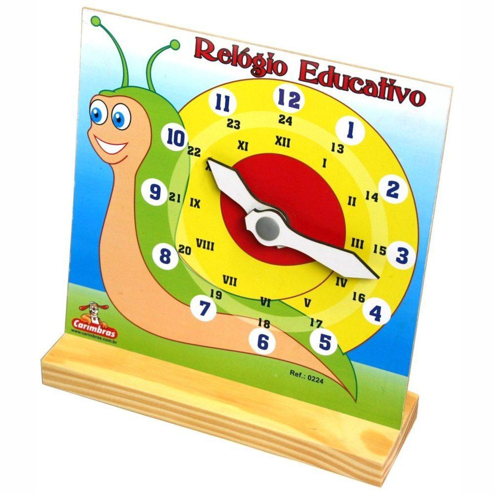 Relogio Educativo - Carimbras
