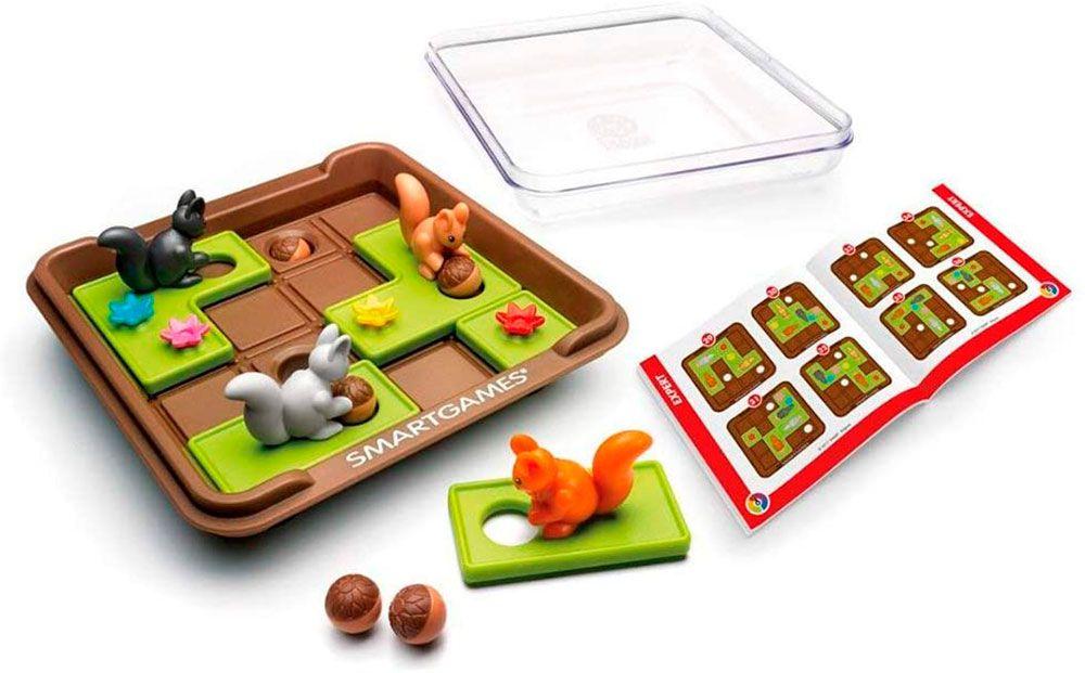 Squirrels Go Nuts! Jogo dos Esquilos - Smart Games