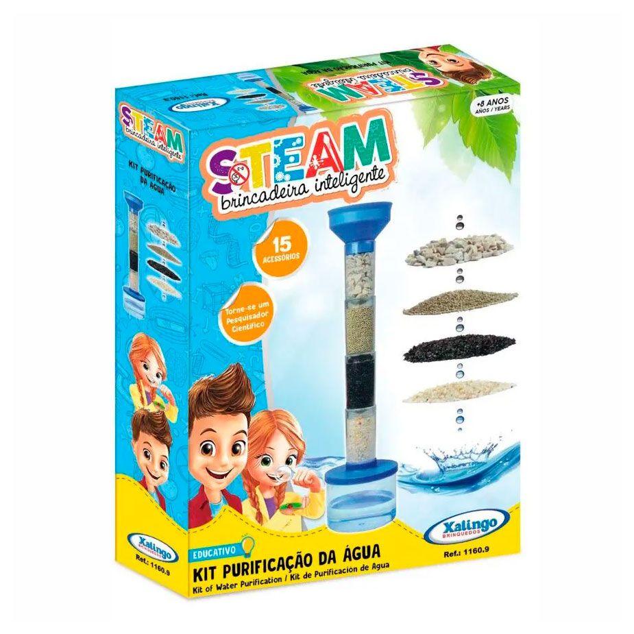 Steam Kit Purificação da Água - Xalingo