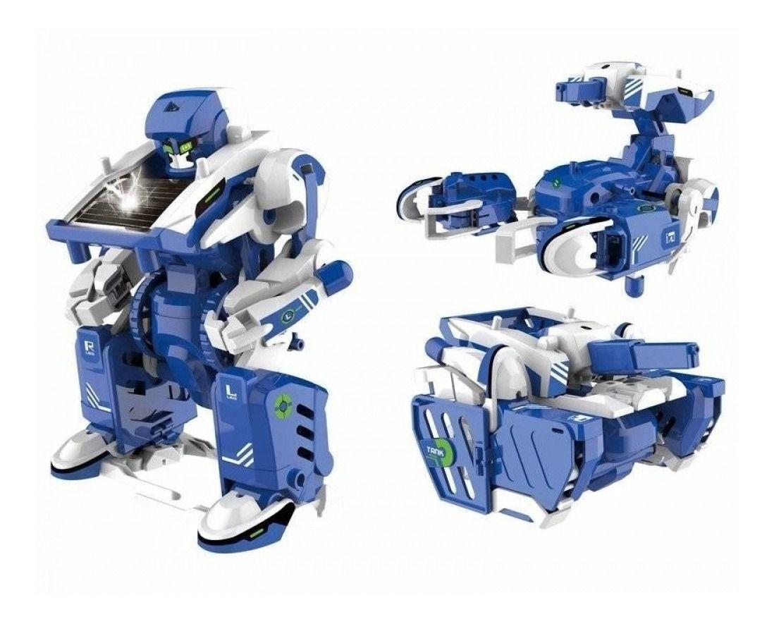 Steam Robô Solar 3 em 1 - Xalingo