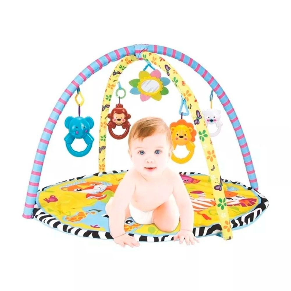 Tapete Interativo Ginásio De Atividades do Bebê - Pura Diversão