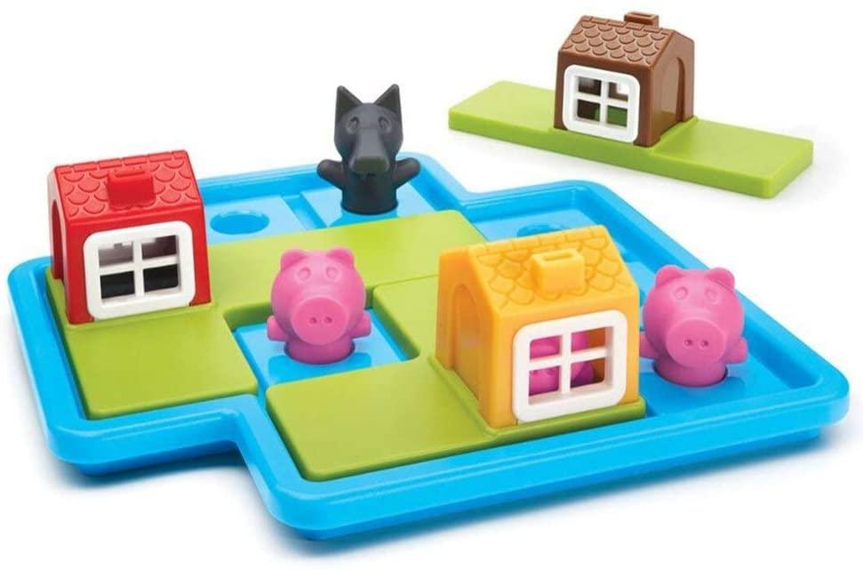 Three Little Piggies Deluxe - Os 3 Porquinhos - Smart Games