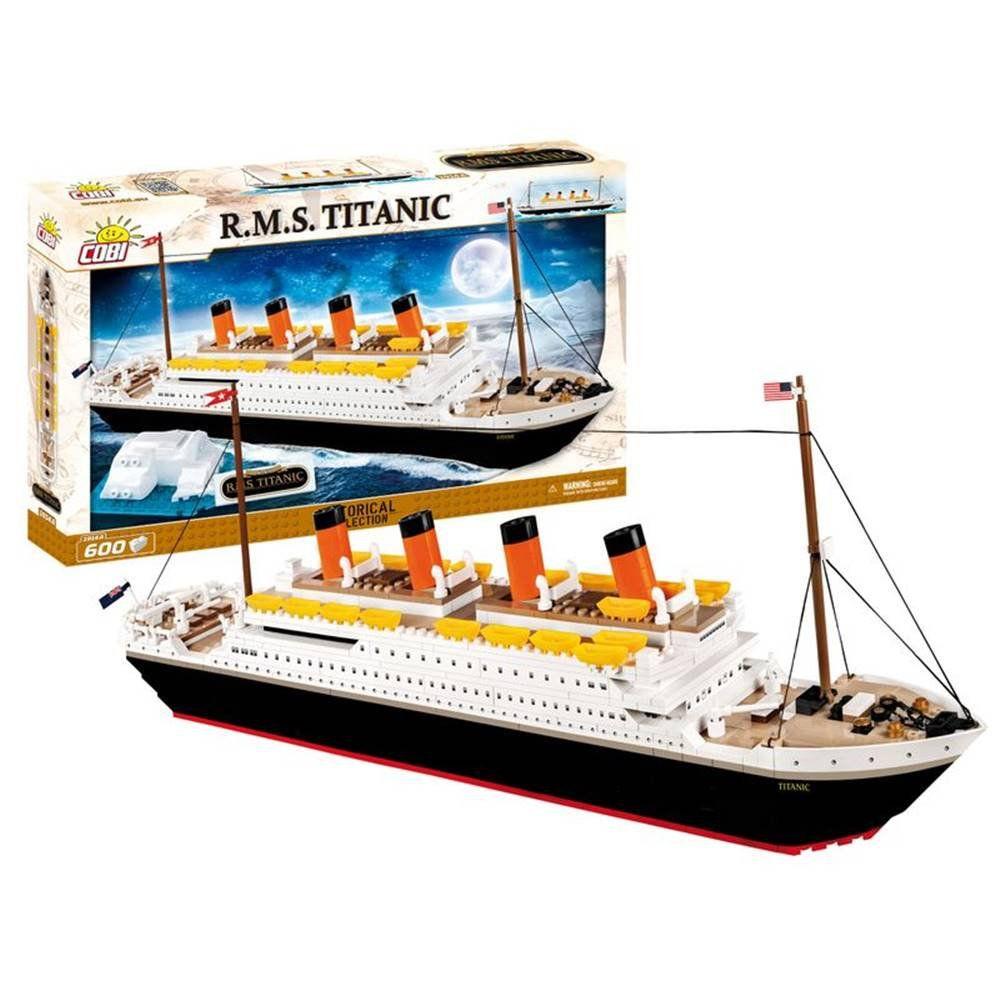 Titanic Para Montar com 600 Peças