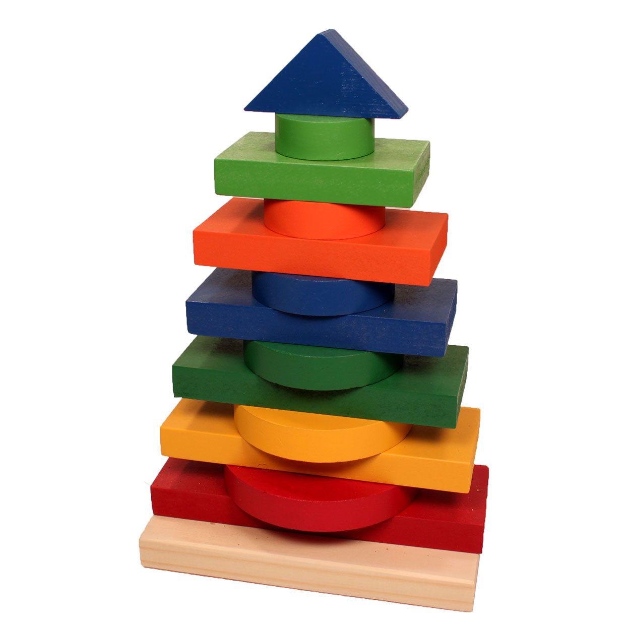 Torre Multiformas para Empilhar Construir