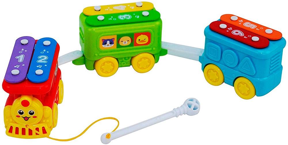 Trem Xilofone Infantil - Pura Diversão