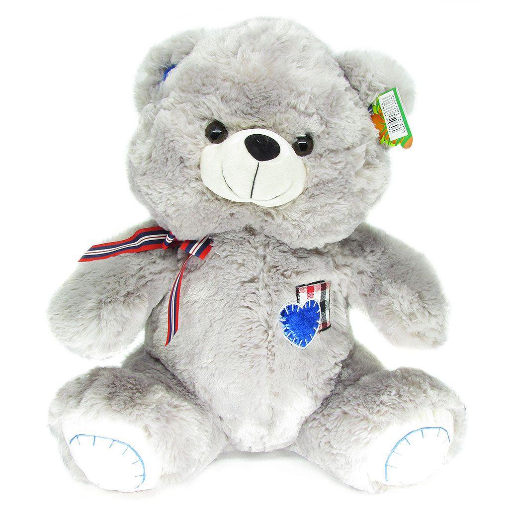 Urso de Pelúcia Cinza • Fizzy