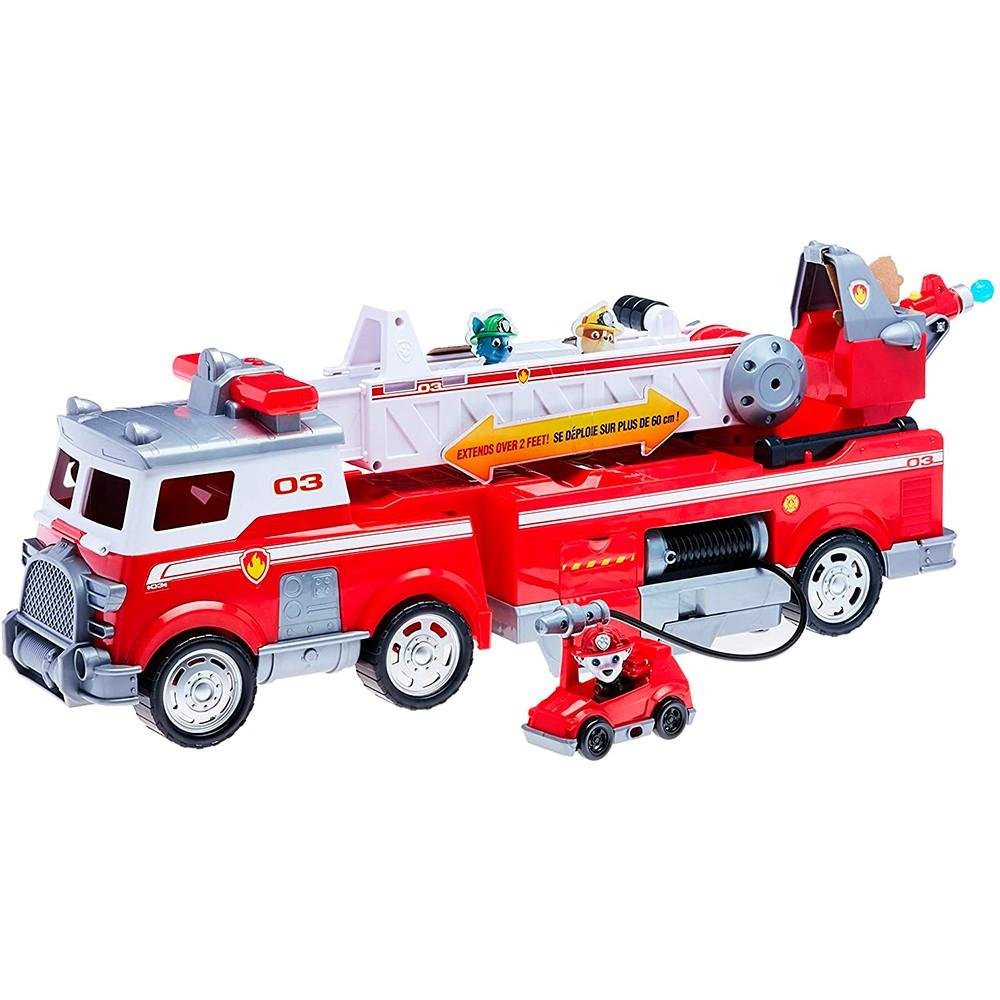 Veiculo Patrulha Canina Ultimate Fire Truck Bombeiros - Sunny