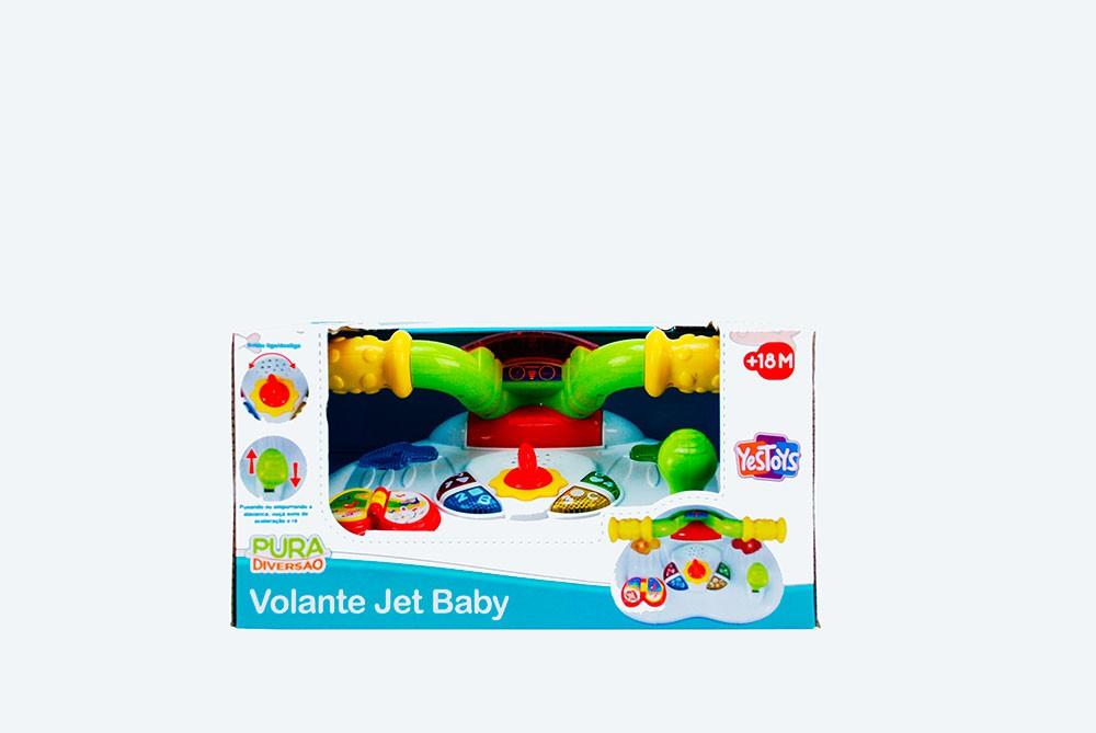 Volante de Atividades  Jet Baby - Pura Diversão
