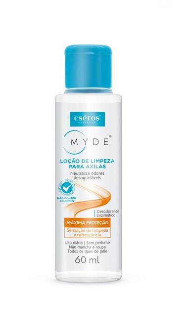 Brinde - Loção de limpeza para axilas 60ML - MYDE