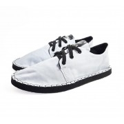 Tênis Casual MONARCA Urban Black & White