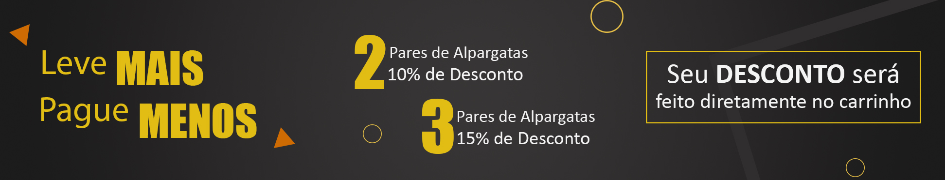 3 - 4 Alpargatas MONARCA 15% OFF