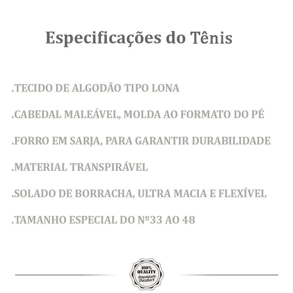 Kit 2 Pares de Tênis Casual MONARCA Urban Cinza Moletom e Preto