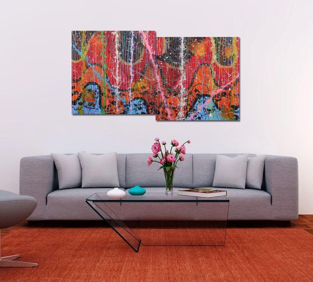 Painel Decorativo De koto al kaoso, de kaoso al koto 73 x 136 cm