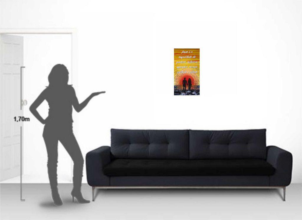 Quadro para decoração de parede em óleo