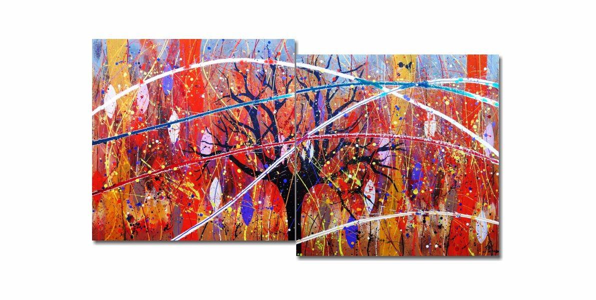 Quadro Painel Decorativo Fajro! Fajro! 73 x 136 cm
