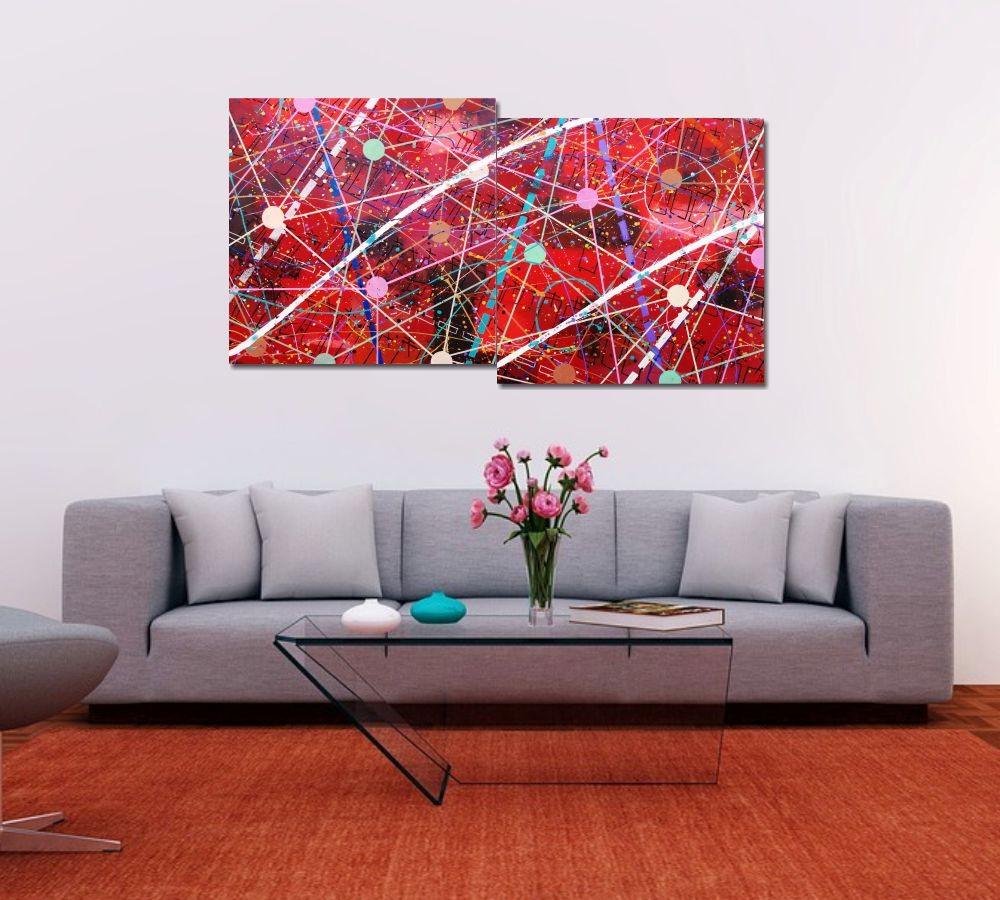 Quadro Painel Decorativo Super cent kvardek sep mil 73 x 136 cm