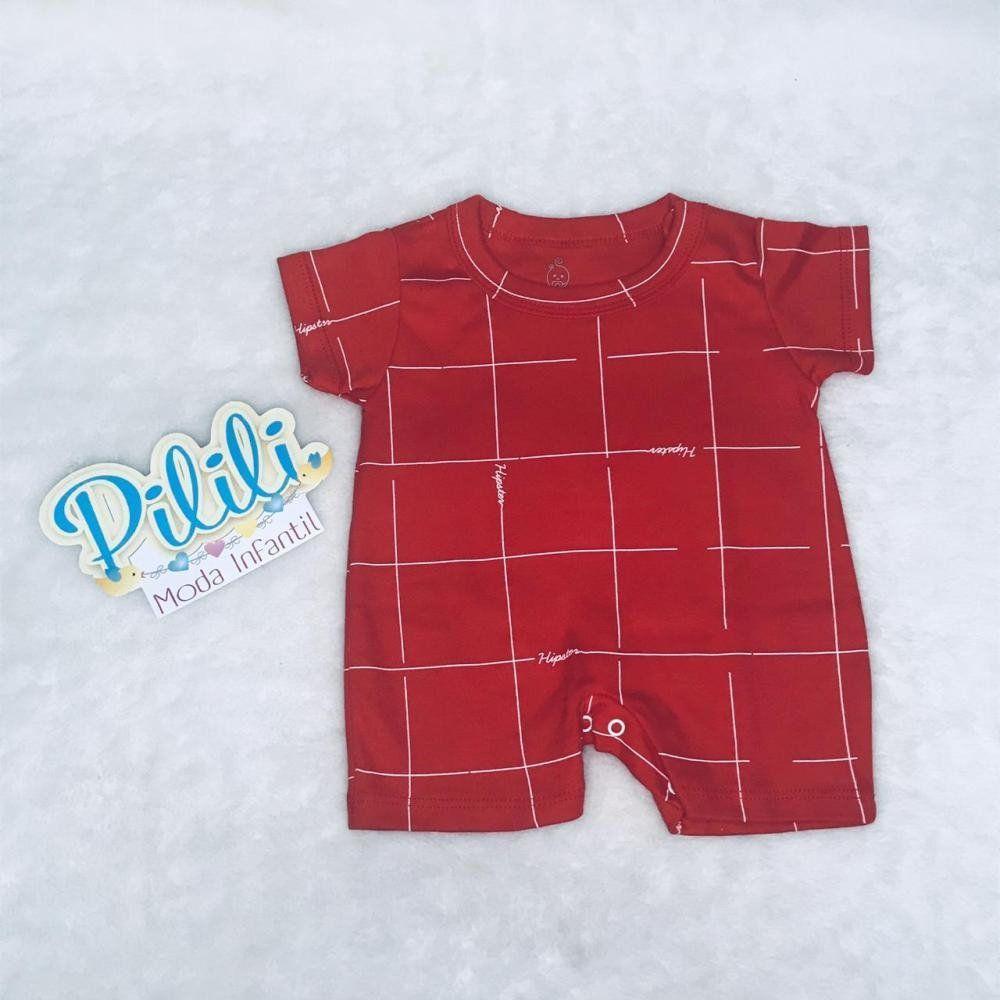 Banho de Sol Vermelho Bebê Menino