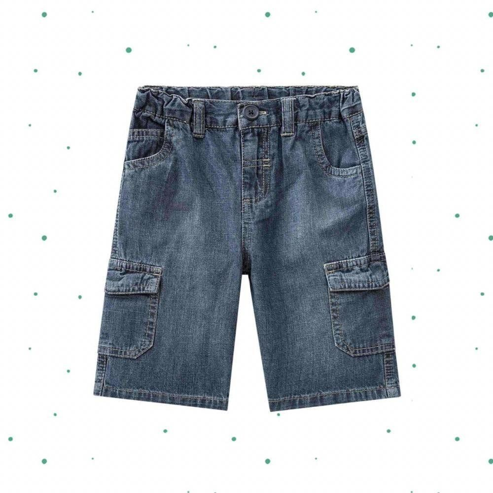 Bermuda Jeans Infantil Masculina Milon