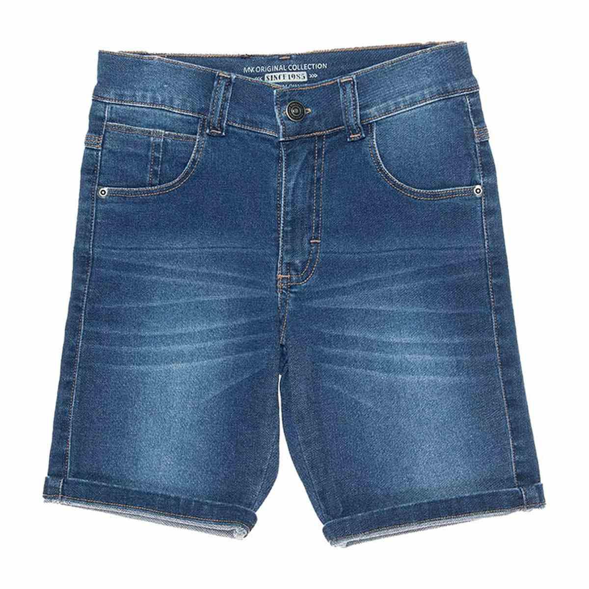 Bermuda Jeans Menino - Mania Kids
