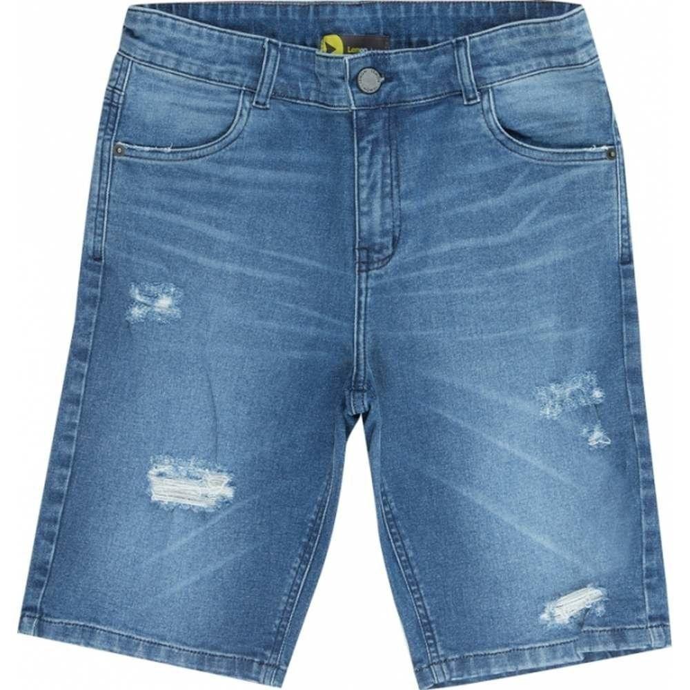 Bermuda Jeans Teen Masculina Lemon