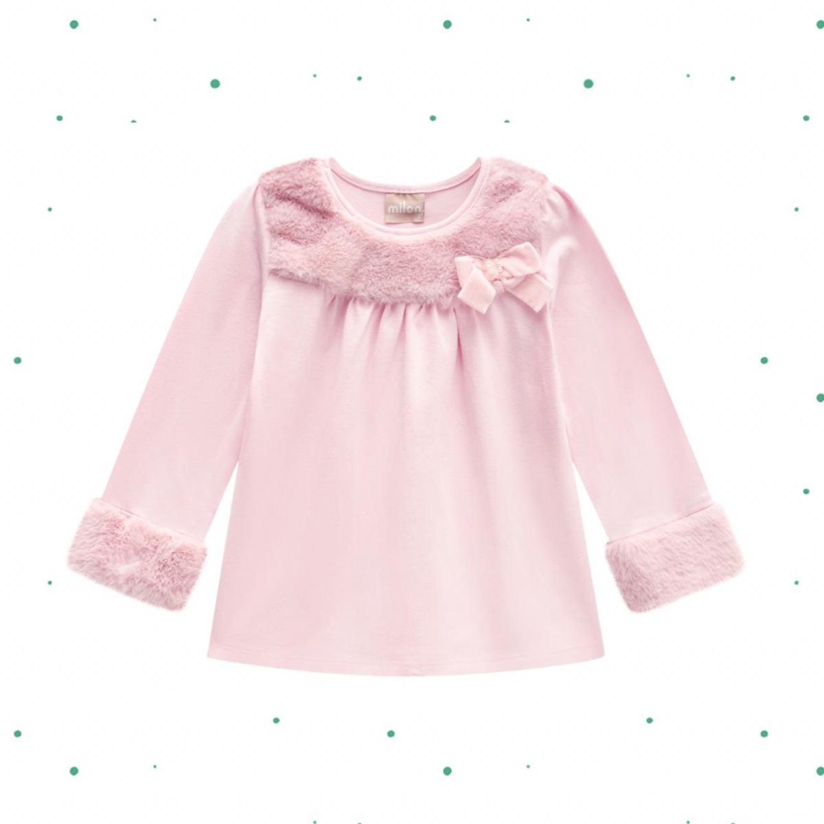 Blusa Menina Milon em Cotton