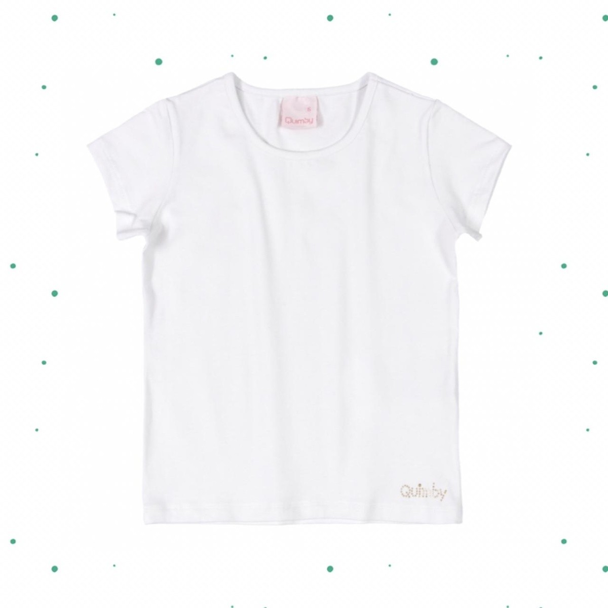 Blusa Menina Quimby em Cotton