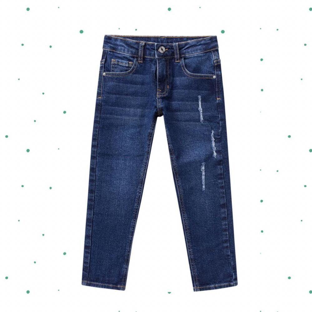 Calça Jeans Infantil Masculina Milon
