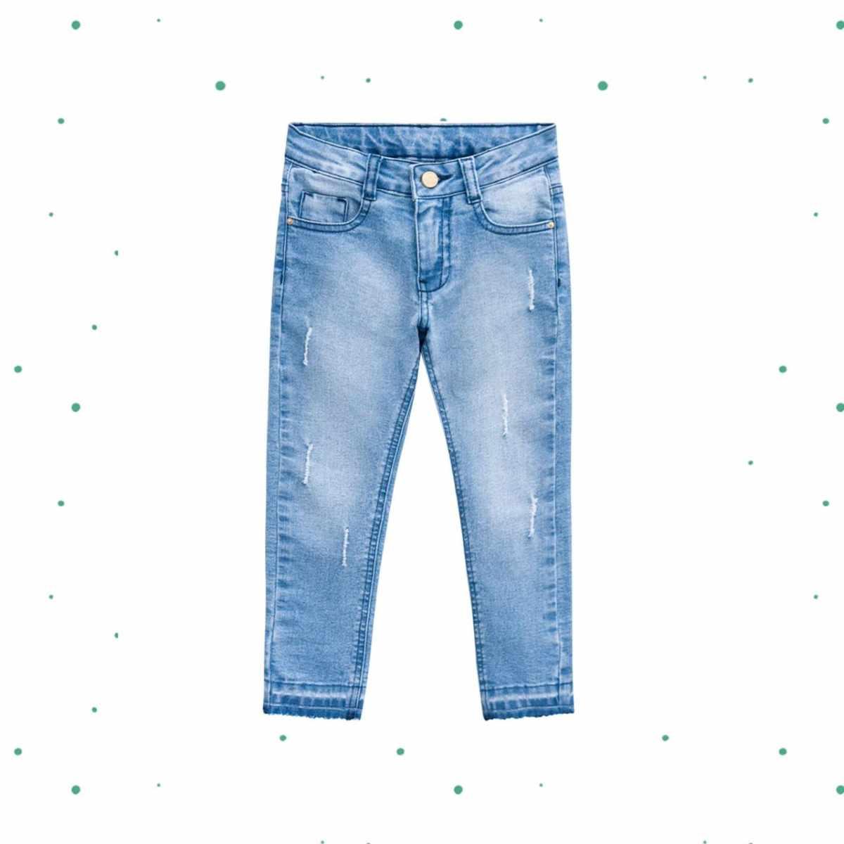 Calça Jeans Menina Milon