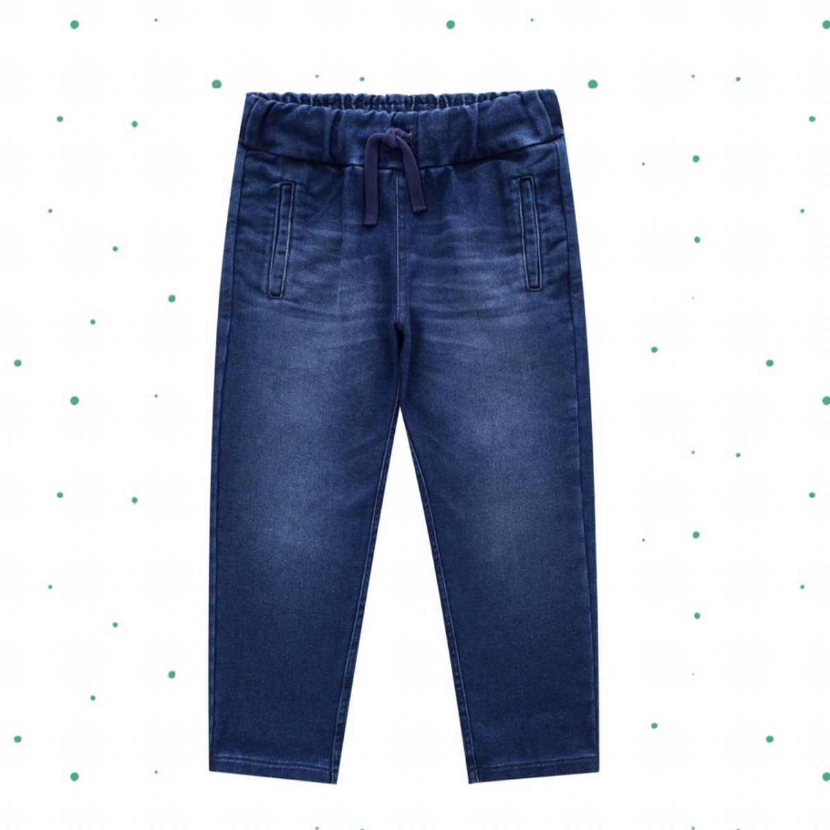 Calça Menino Milon em Malha Jeans