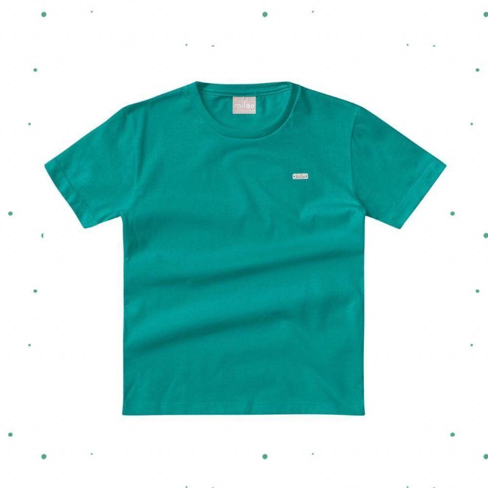 Camiseta Bebê Menino Milon em Algodão Verde