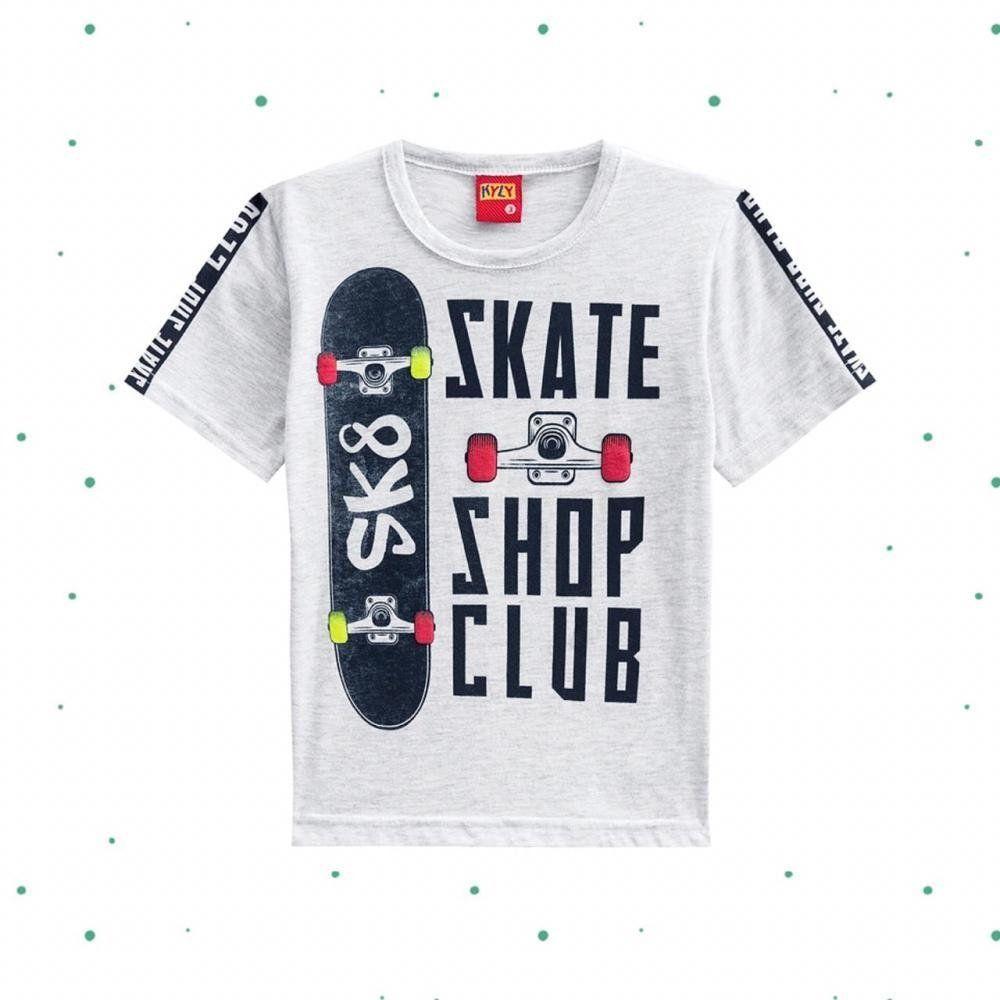 Camiseta Infantil Kyly em 100% Algodão Estampada
