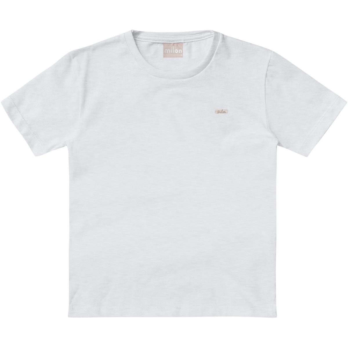 Camiseta Infantil Menino Milon - Mescla