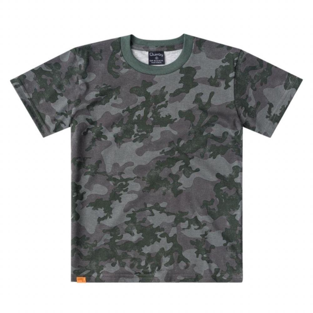 Camiseta Infantil Quimby 100% Algodão