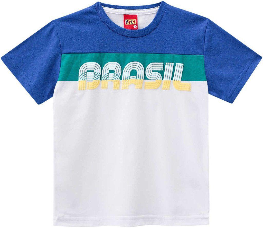 Camiseta Masculina Kyly Brasil