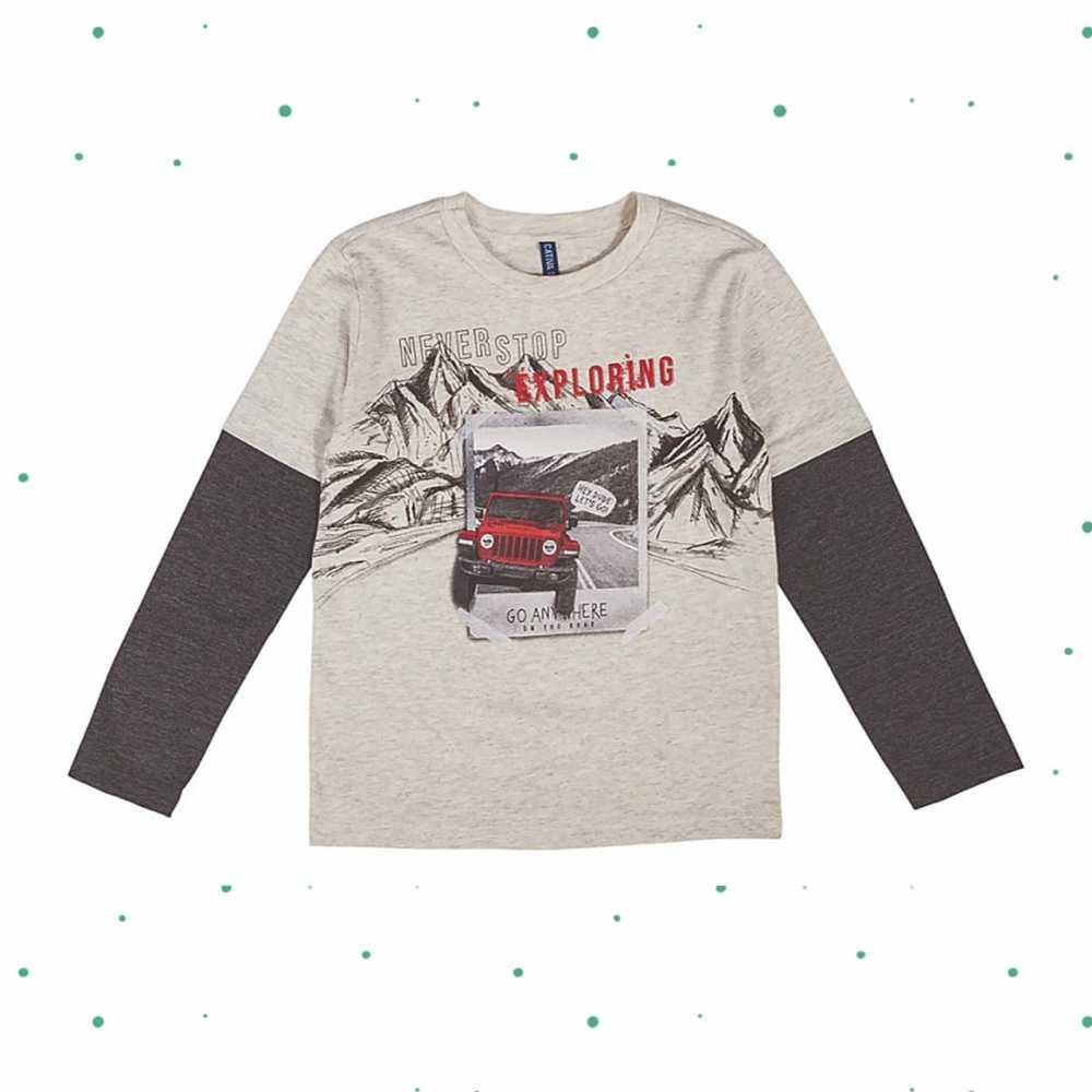 Camiseta Menino Cativa em 100% Algodão