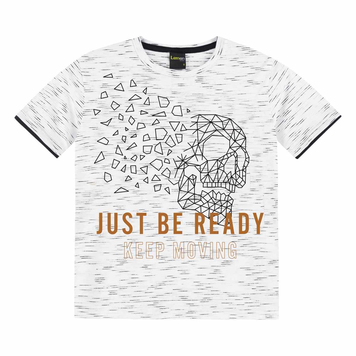 Camiseta Menino Lemon em Algodão Jet Back