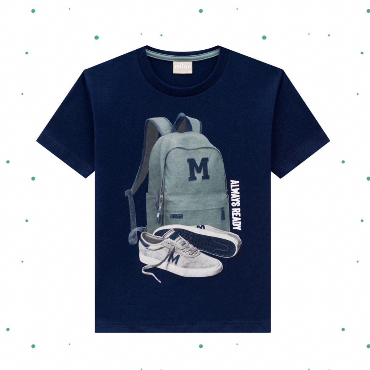 Camiseta Menino Milon em Algodão