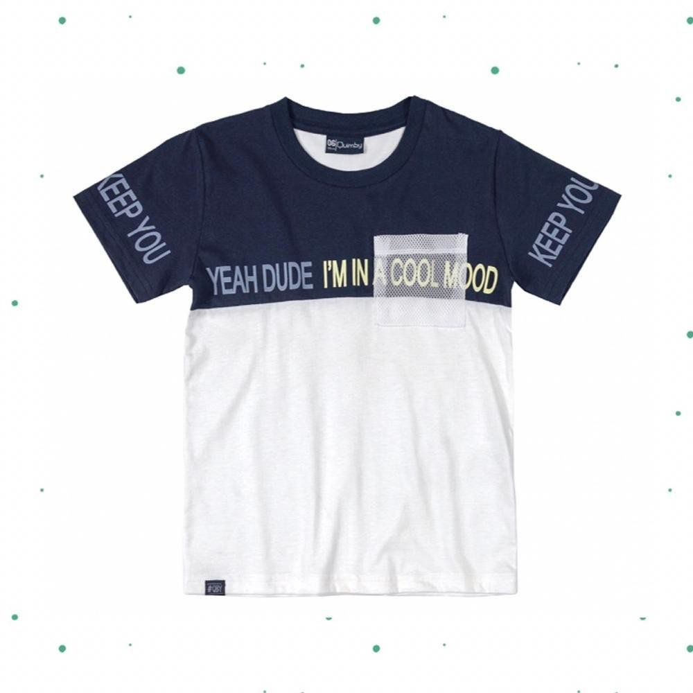 Camiseta Menino Quimby em 100% Algodão