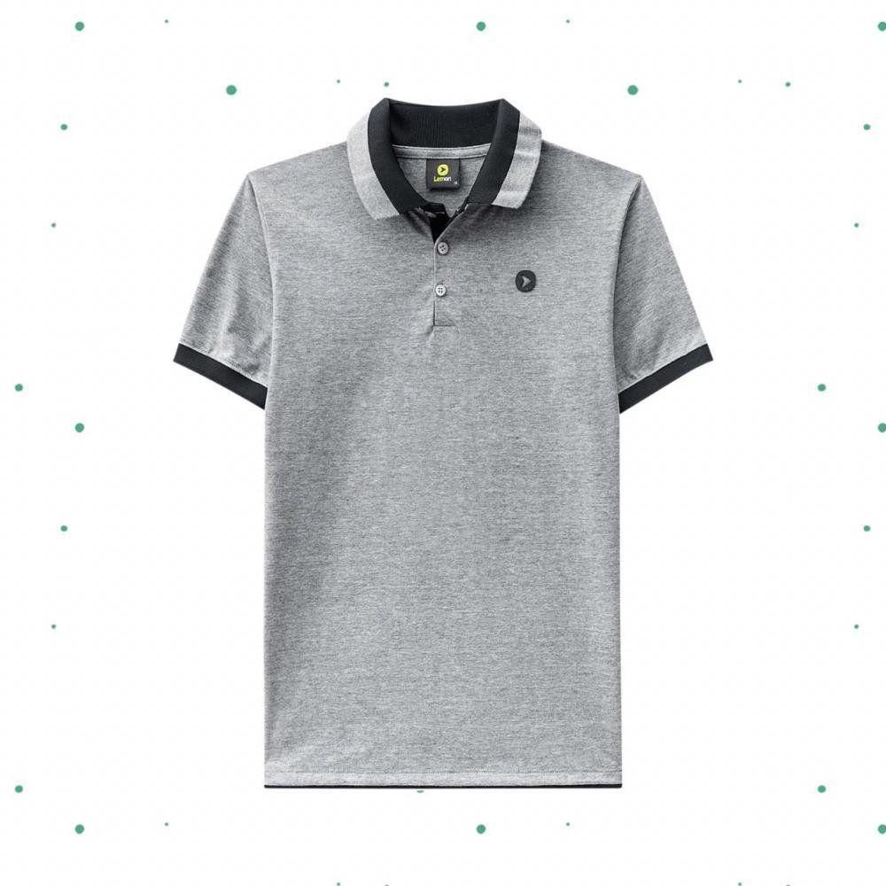 Camiseta Polo Teen Lemon  em 100% Algodão