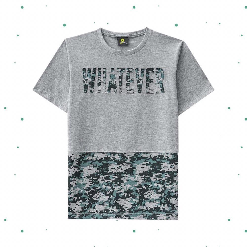 Camiseta Teen Lemon em 100% Algodão Estampada