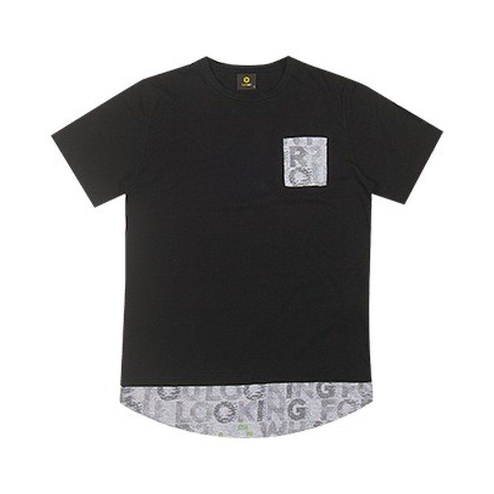 Camiseta Teen Masculina Lemon na cor Preta