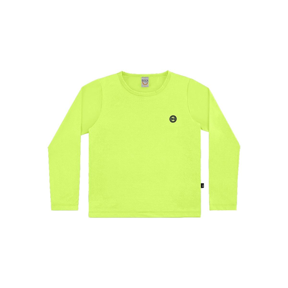 Camiseta Unissex com Proteção UV - Verde
