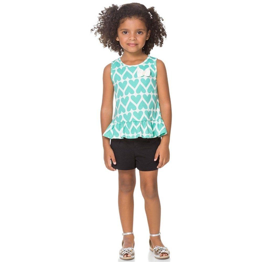 Conjunto Infantil Milon Regata e Shorts