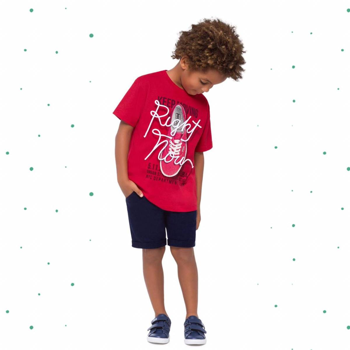 Conjunto Menino Milon Camiseta Algodão Bermuda Moletom sem Felpa