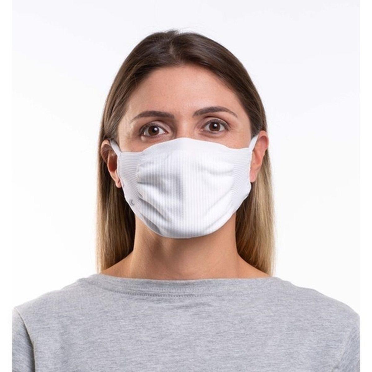 Máscara Lupo Adulto Zero Costura Vírus Bac-Off - Kit com 2 unidades - Branca