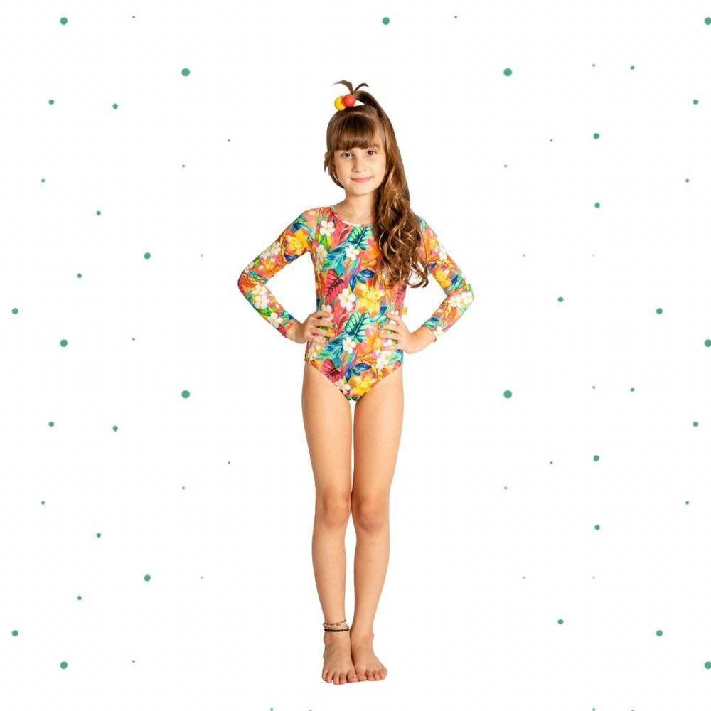 Maiô Magah Beach Wear Lih Floral