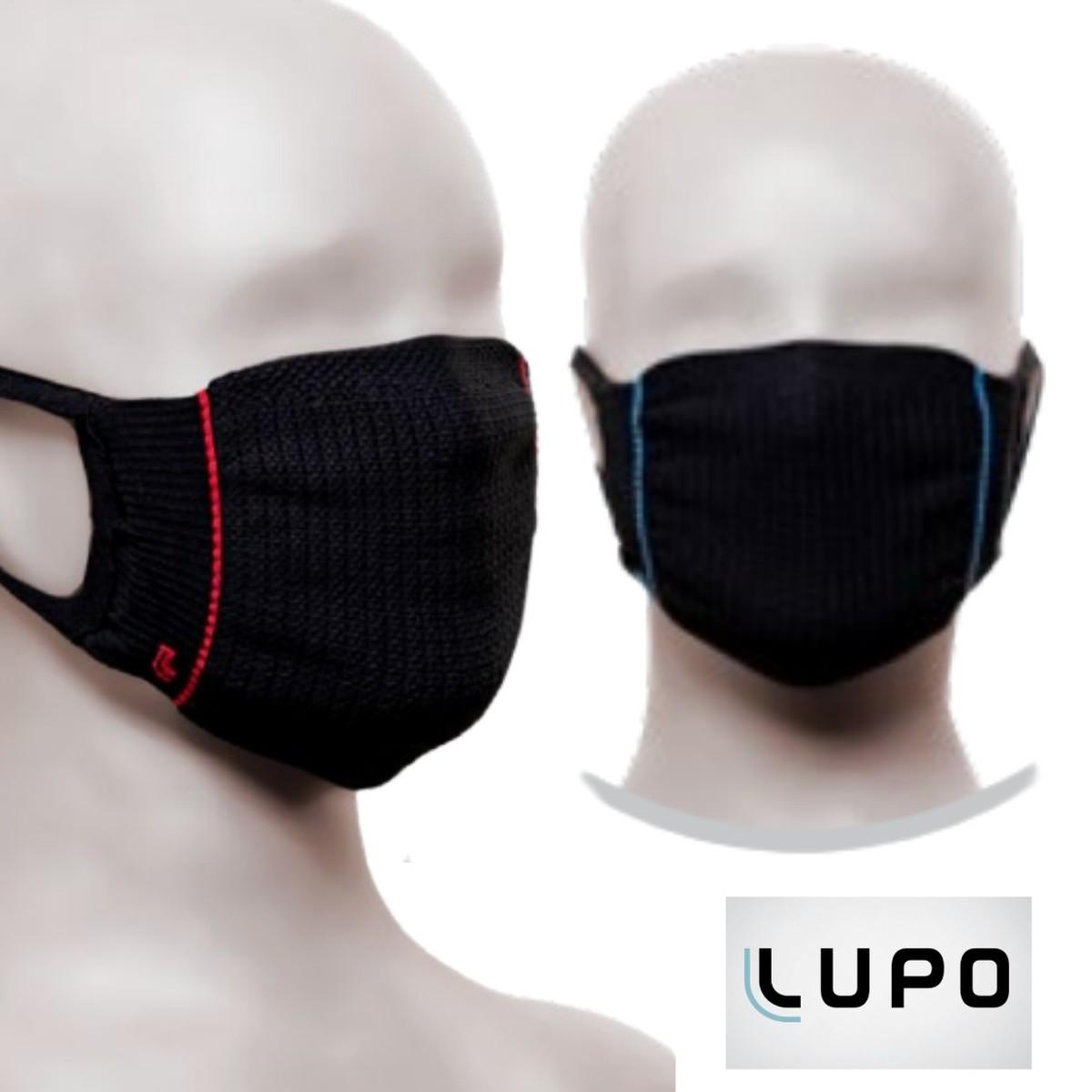Máscara Lupo Infantil Zero Costura Bac-Off - Kit c/ 2und