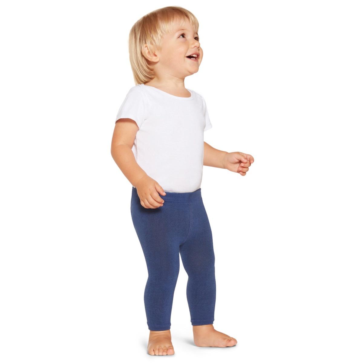 Meia Calça Legging Baby - Azul