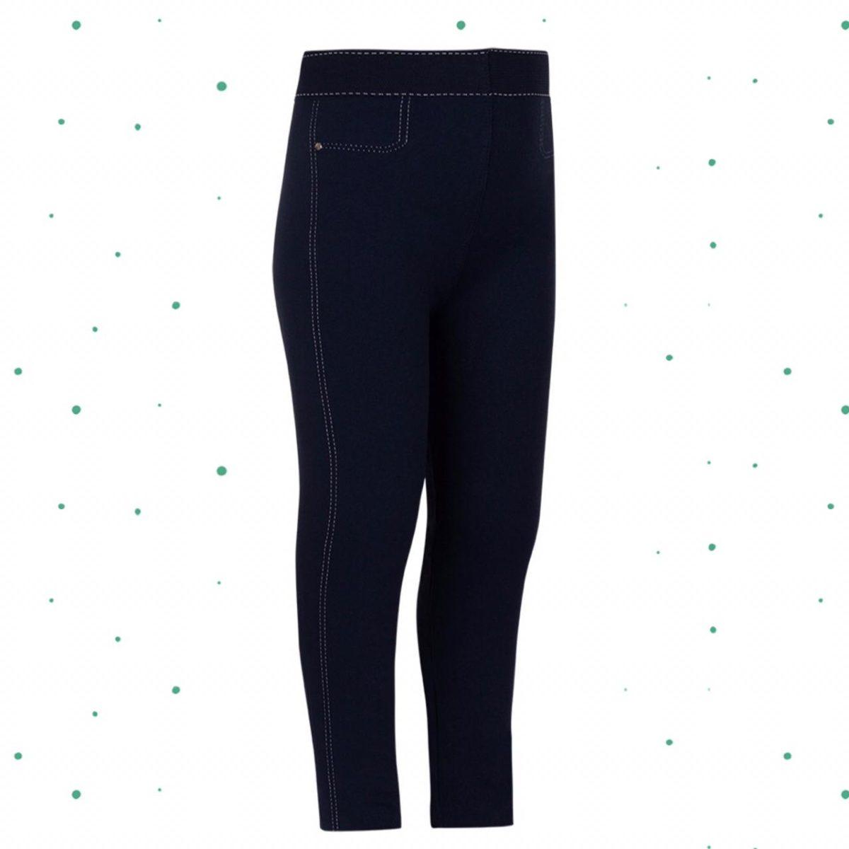 Meia-Calça Legging Infantil Jeans Lobinha Lupo Fio 150